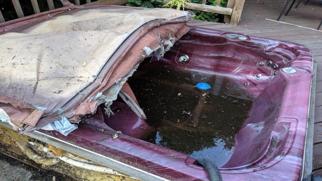 Hot-Tub Removal